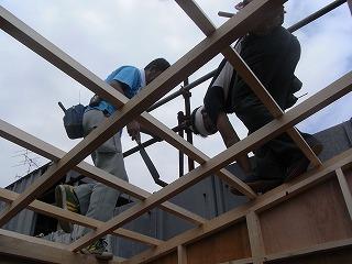 ハウス建設
