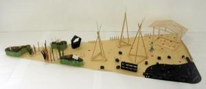 ミニヨコアートビレッジの模型